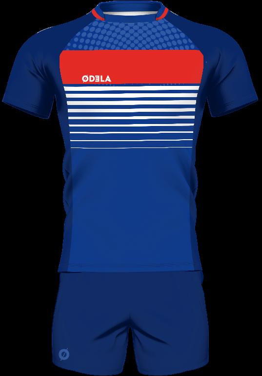 maillot de rugby tenue short odela