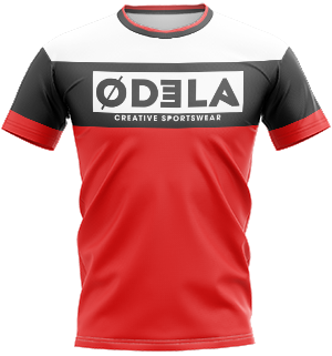 odela maillot homme col rond manches courtes droites